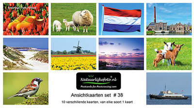 Kaartenset , Postcard sets for sale, postkarten sets