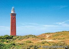 ansichtkaartvuurtoren Westhoofd Ouddorp - postcard lighthouse Westhoofd - postkarte leuchtturm Westhoofd
