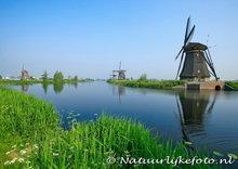 Ansichtkaartmolens van Kinderdijk - postcard UNECO WHS - postkarte UNECO WHS